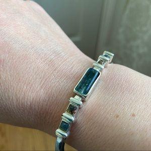 Monet Silver Tone Bracelet